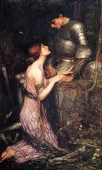 Lamia. Waterhouse, John William 1905