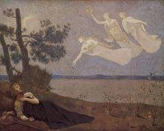 O Sonho. Pierre Puvis de Chavannes 1883