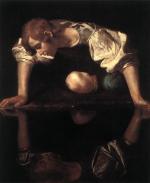 Caravaggio. Narcissus. 1598-99