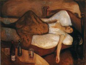 O DIA SEGUINTE. Munch, Evard.