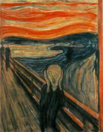 O GRITO. Munch, Edvard. (1893)
