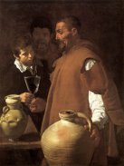 VELÁZQUEZ, Diego. The Waterseller of Seville, 1623