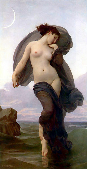 Evening Mood - William-Adolphe Bouguereau (1882)