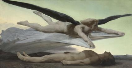 Igualdade diante da Morte - 1848 - William-Adolphe Bouguereau