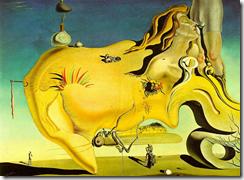 O grande masturbador - Salvador Dali