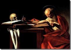São Jerônimo - Caravaggio (1605)