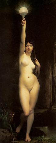 Veritas - Jules Joseph Lefebvre (1870)