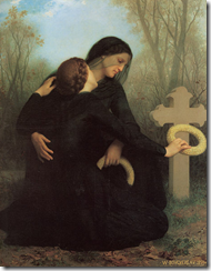William-Adolphe Bouguereau (1825-1905) - The Day of the Dead