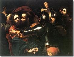 A Captura de Cristo - Caravaggio (1602)