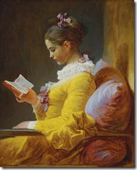 A Leitora - Jean-Honoré Fragonard