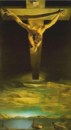 Cristo de São João da Cruz - Salvador Dali (1951)