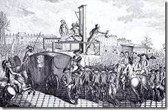 Execução de Luiz XVI. Fonte: Wikipédia
