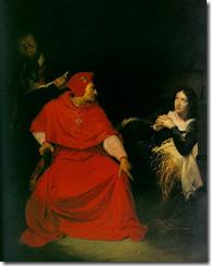 Joan d'Arc sendo interrogada - Paul Delaroche (1824)