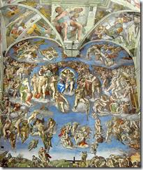 O Juízo Final - Michelangelo di Lodovico Buonarroti