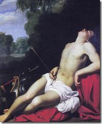 São Sebastião, por Carlo Saraceni (c1610-15)