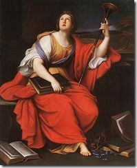 The Muse Clio by Pierre Mignard 1689