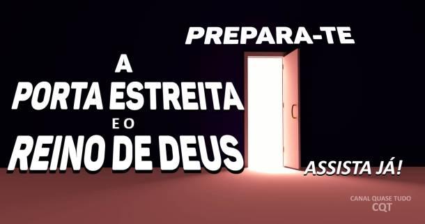 REINO DE DEUS, APOCALIPSE VINDA DE CRISTO, BIBLIA,  CANAL QUASE TUDO